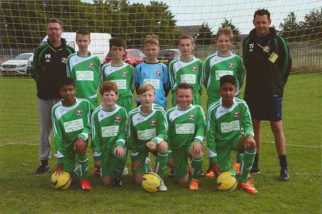 Hill Green Lawns Ltd are proud sponsors of Dartford Y.M.C.A under 13's